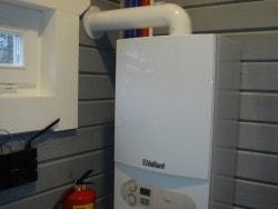 котел Vallant в системе водяного отопления