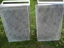 секции электронного фильтра после промывки