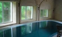 помещение закрытого бассейна до включения приточно вытяжной вентиляции