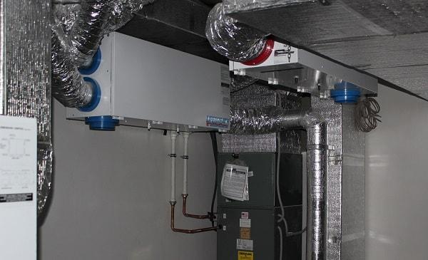 Рекуператор в системе воздушного отопления