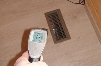 Балансировка системы воздушного отопления